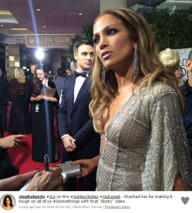 Golden Globes 2015 Instagram pictures (13)